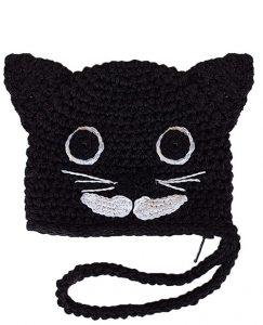 portamonete borsellino a forma di gatto - Isotta Catfluencer