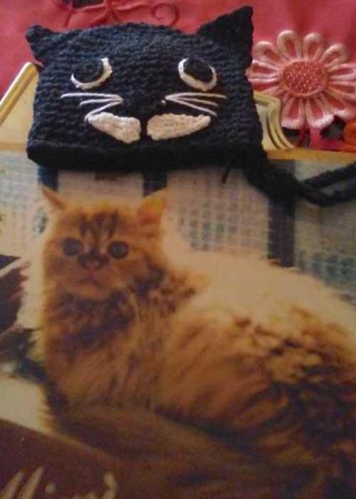 accessori a forma di gatto - portamonet borsellino